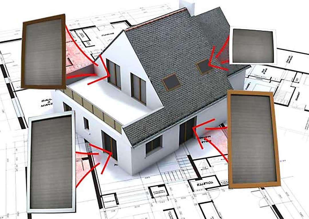 Bitte wählen Sie: Insektenschutz für Fenster oder Türen